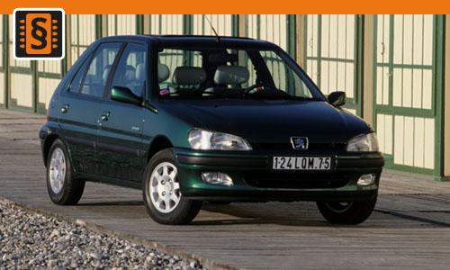 Chiptuning Peugeot 106 1.1  44kw (60hp)