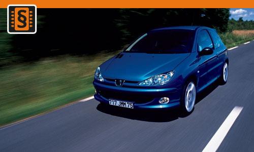 Chiptuning Peugeot 206 1.4 HDI 51kw (70hp)