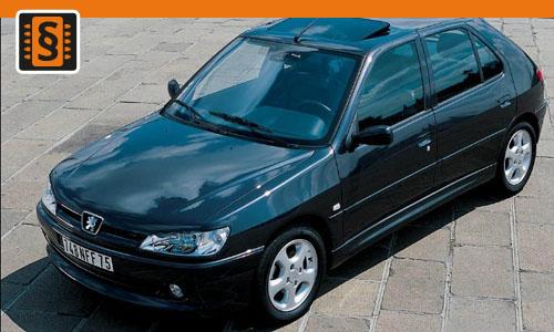 Chiptuning Peugeot 306 2.0 HDI 81kw (110hp)