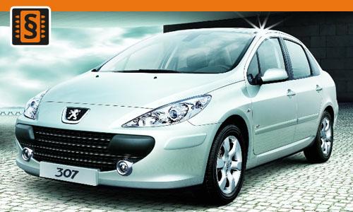 Chiptuning Peugeot 307 1.4 HDI 51kw (70hp)