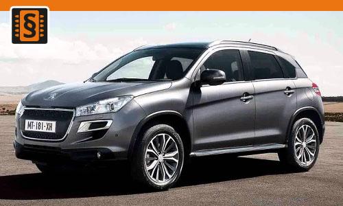 Chiptuning Peugeot 4008 1.6 HDI 85kw (115hp)