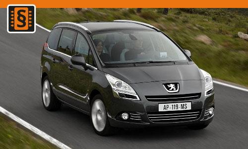 Chiptuning Peugeot 5008 1.6 HDI 81kw (110hp)