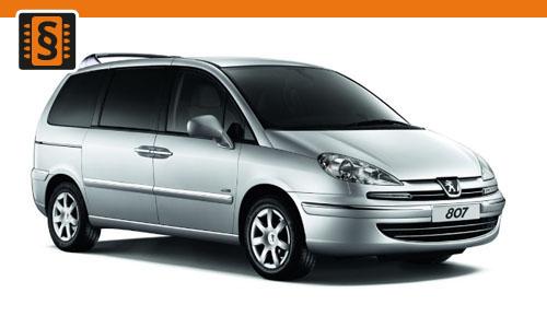 Chiptuning Peugeot 807 2.2 HDI 94kw (128hp)