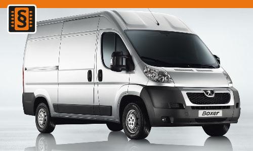 Chiptuning Peugeot Boxer 2.2 HDI 96kw (130hp)
