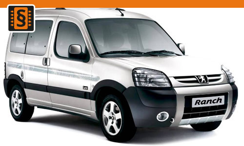 Chiptuning Peugeot Partner 2.0 HDI 66kw (90hp)
