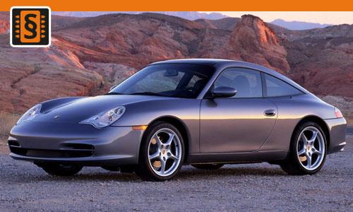 Chiptuning Porsche 911 Carrera Turbo S 3.6  331kw (450hp)