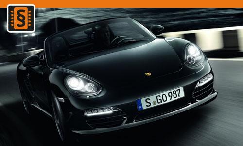 Chiptuning Porsche Boxster S 3.2  185kw (252hp)