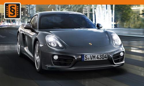 Chiptuning Porsche Cayman 2.7 DFI 155kw (211hp)