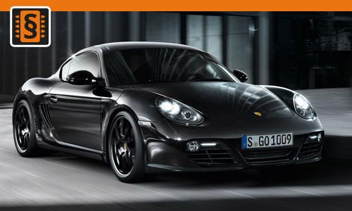Chiptuning Porsche Cayman S 3.4  235kw (320hp)