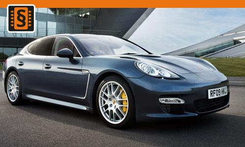 Chiptuning Porsche Panamera (970) 4.8 DFI Turbo S 419kw (570hp)