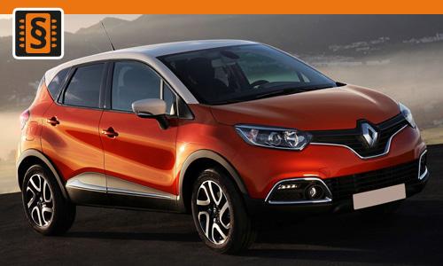 Chiptuning Renault Captur 1.5 dCi 81kw (110hp)