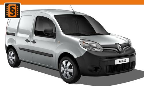 Chiptuning Renault Kangoo 1.9 dCi 72kw (98hp)