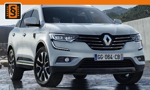 Chiptuning Renault Koleos 2.0 dCi 110kw (150hp)