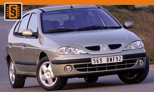Chiptuning Renault Mégane 1.9 TDI 69kw (94hp)