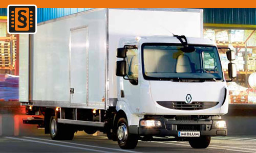 Chiptuning Renault Midlum 220  158kw (215hp)