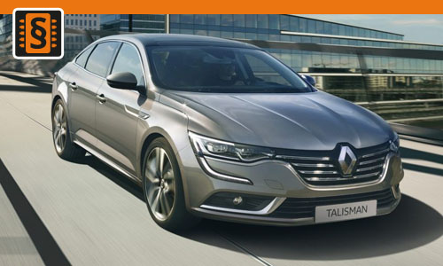 Chiptuning Renault Talisman 2.0 Blue dCi 147kw (200hp)