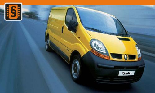 Chiptuning Renault Trafic 2.0 dCi 66kw (90hp)