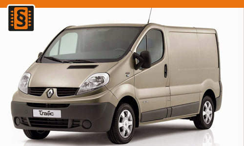 Chiptuning Renault Trafic 1.6 dCi 66kw (90hp)
