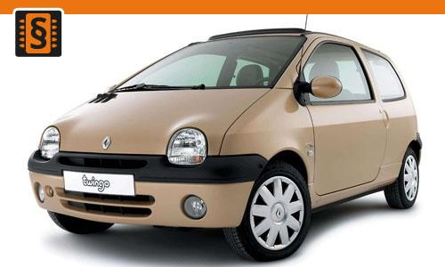 Chiptuning Renault Twingo 1.2 8v 43kw (58hp)
