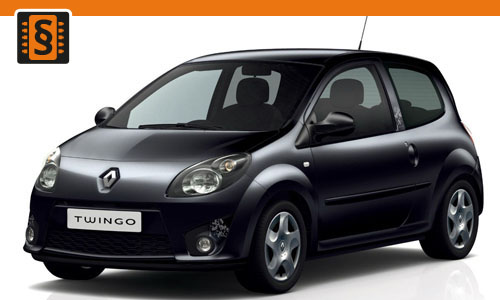 Chiptuning Renault Twingo 0.9 TCe 66kw (90hp)