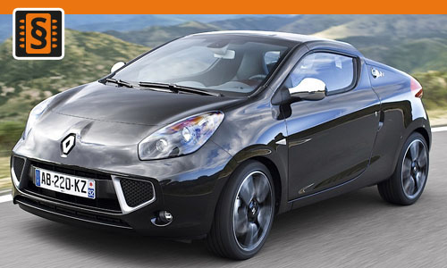 Chiptuning Renault Wind 1.2 TCe 74kw (100hp)