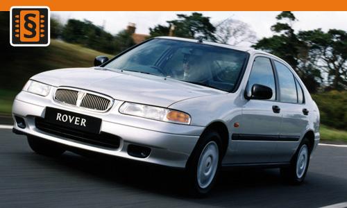 Chiptuning Rover 400 2.0 Di 77kw (105hp)