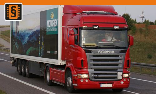 Chiptuning Scania R-series 340  250kw (340hp)