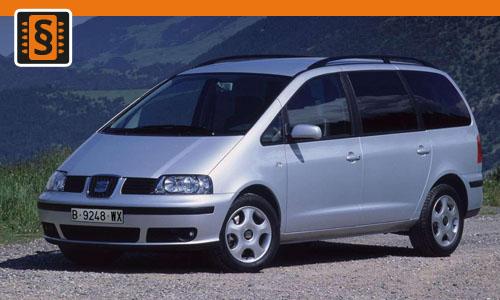 Chiptuning Seat Alhambra 2.0 TDI 103kw (140hp)