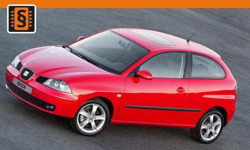 Chiptuning Seat Ibiza 2.0i 85kw (115hp)