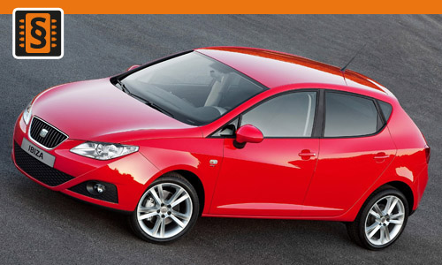 Chiptuning Seat Ibiza 1.4 TDI 55kw (75hp)