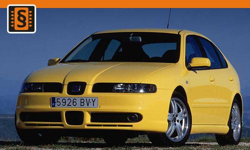 Chiptuning Seat Leon 1.4i 55kw (75hp)