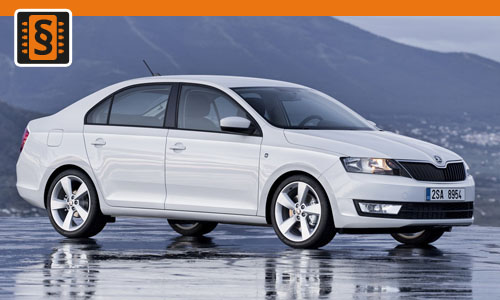 Chiptuning Skoda Rapid 1.0 TSI 70kw (95hp)
