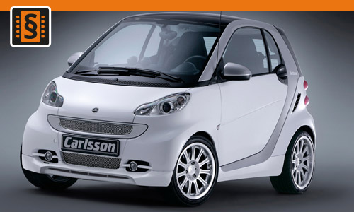 Chiptuning Smart ForFour 0.8 CDI 33kw (45hp)
