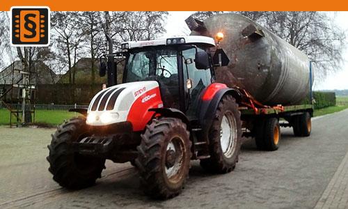 Chiptuning Steyr 4000 serie 4110  82kw (112hp)