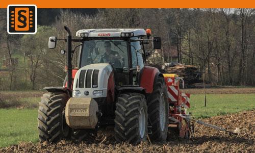 Chiptuning Steyr 6000 serie 6125  93kw (126hp)