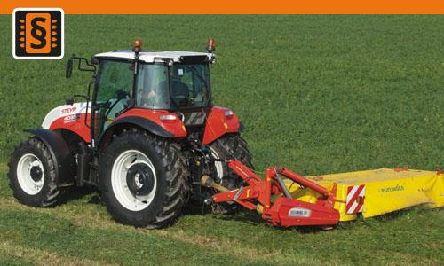 Chiptuning Steyr Kompakt 4055 3.2L  41kw (56hp)