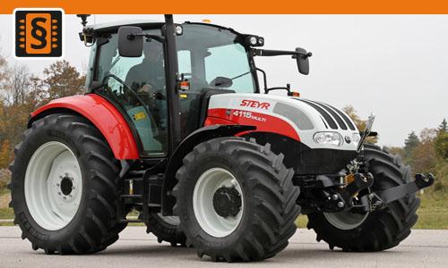Chiptuning Steyr Multi 4105 3.4L  79kw (107hp)