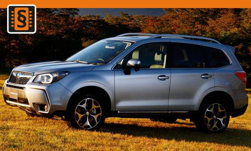 Chiptuning Subaru Forester 2.0D  110kw (150hp)