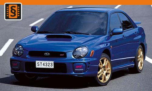 Chiptuning Subaru Impreza 2.5 WRX STI 221kw (300hp)