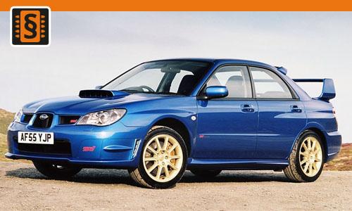 Chiptuning Subaru Impreza 2.0 Turbo 160kw (218hp)