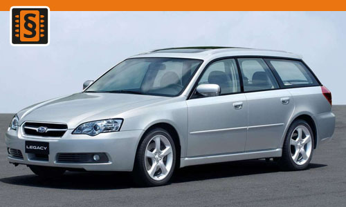 Chiptuning Subaru Legacy 2.5  121kw (165hp)