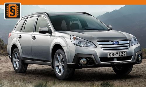 Chiptuning Subaru Outback 3.0  180kw (245hp)