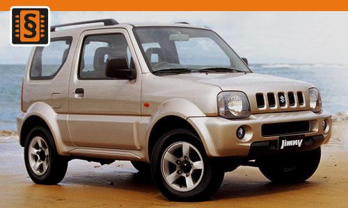 Chiptuning Suzuki Jimny III 1.5 DDiS 48kw (65hp)