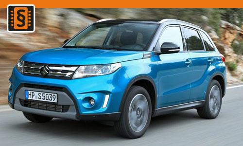 Chiptuning Suzuki Vitara S 1.4 T 103kw (140hp)