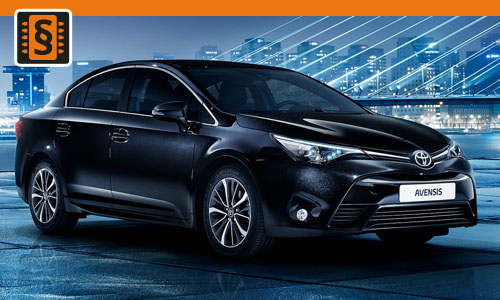 Chiptuning Toyota Avensis 2.2 D-4D 130kw (177hp)
