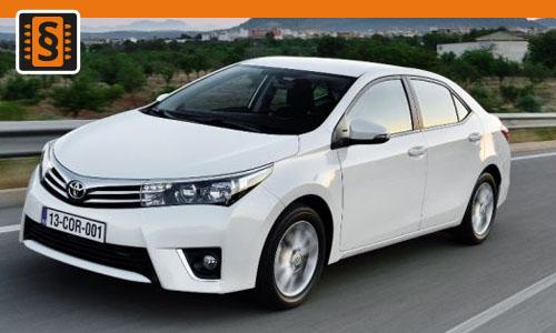 Chiptuning Toyota Corolla 2.0 D-4D 105kw (143hp)