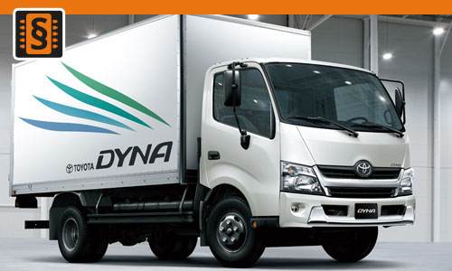 Chiptuning Toyota Dyna 150 D-4D 75kw (102hp)