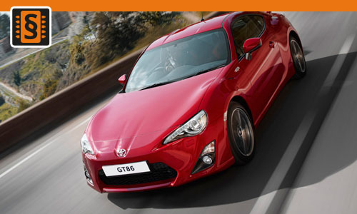 Chiptuning Toyota GT86 2.0i  151kw (205hp)