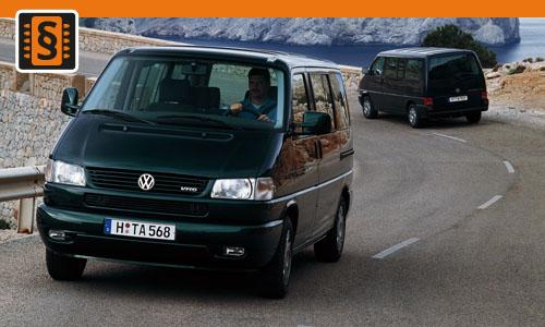 Chiptuning VW Transporter 2.5 TDI 75kw (102hp)