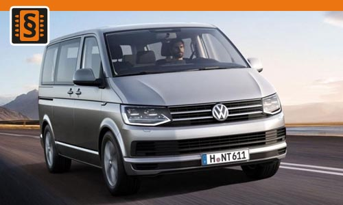 Chiptuning VW Transporter 2.0 TDI 62kw (84hp)